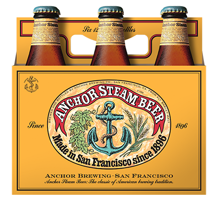 AnchorSteam 6pack Front