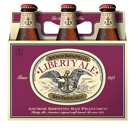 LibertyAle 6pack Front