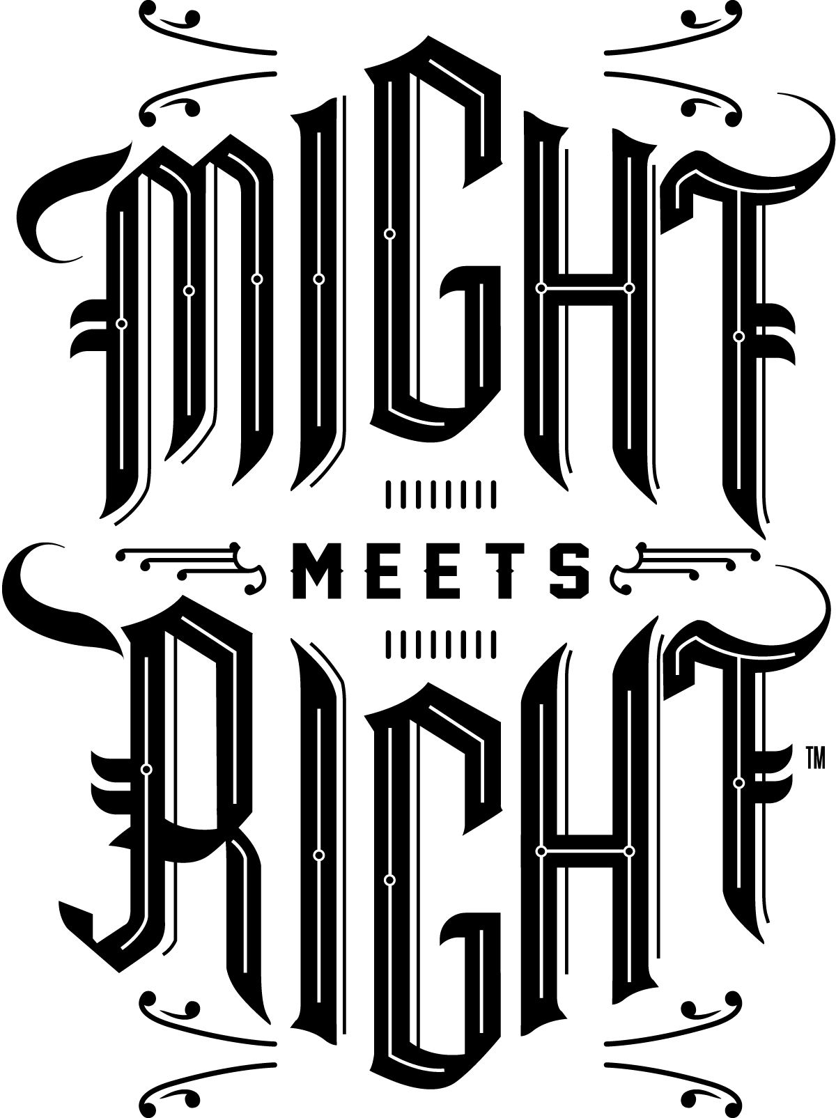 MightMeetsRight Stamp