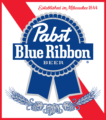 Pabst Blue Ribbon Full Logo