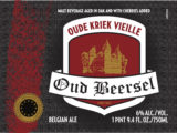 OudBeersel kriek label
