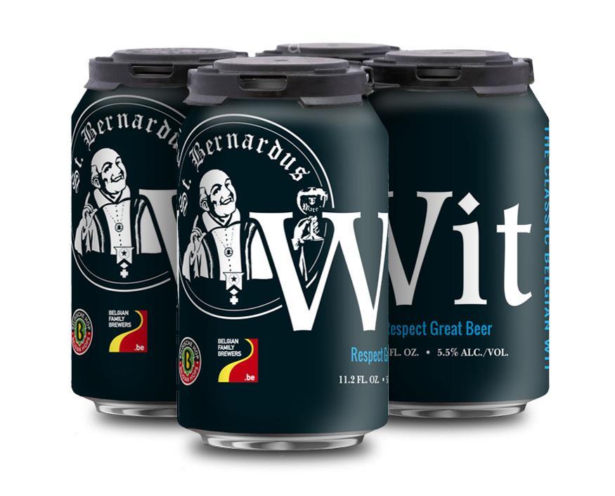 St Bernardus Wit 4pack cans