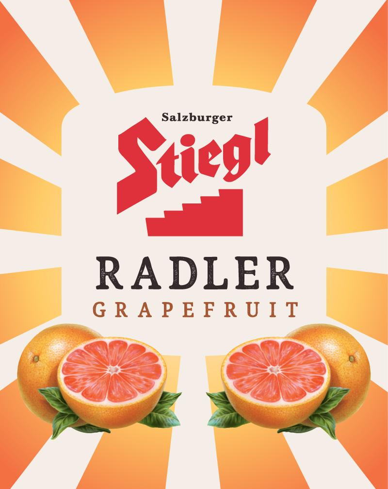 Stiegl RadlerGrapefrut clean