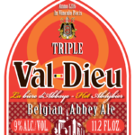 ValDieu tripel new label