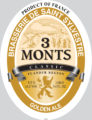 3Monts Golden Logo