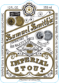 Imperial Stout Label