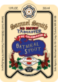 Oatmeal Stout Label