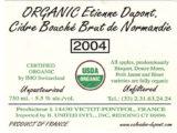 Organic Cidre Bouche Brut de Normandie crop