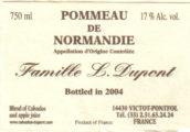 Pommeau Label crop