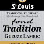 StLouis Fond Tradition Gueuze2.5x3.5