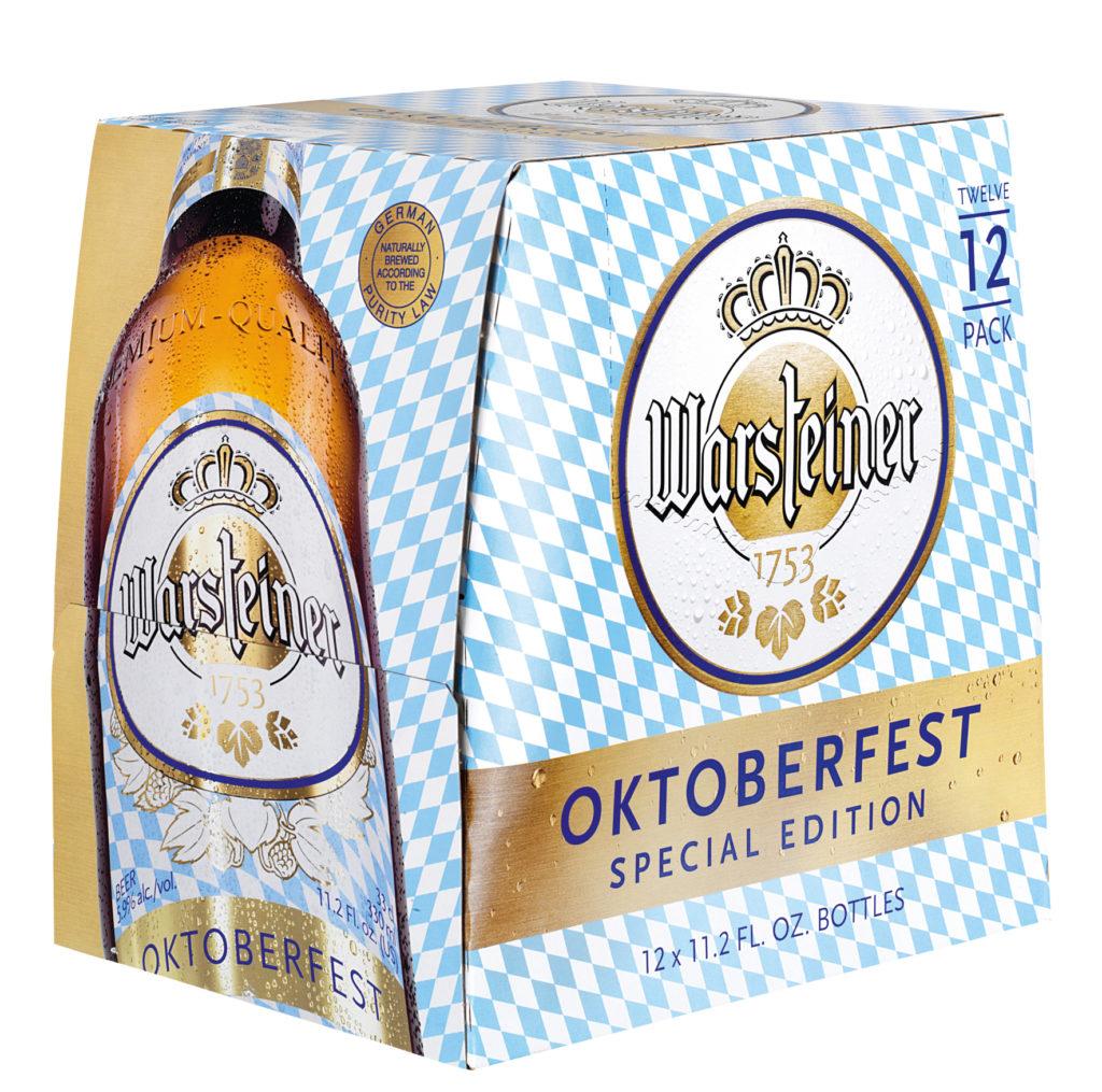 Warsteiner Oktoberfest Louis Glunz Beer Inc