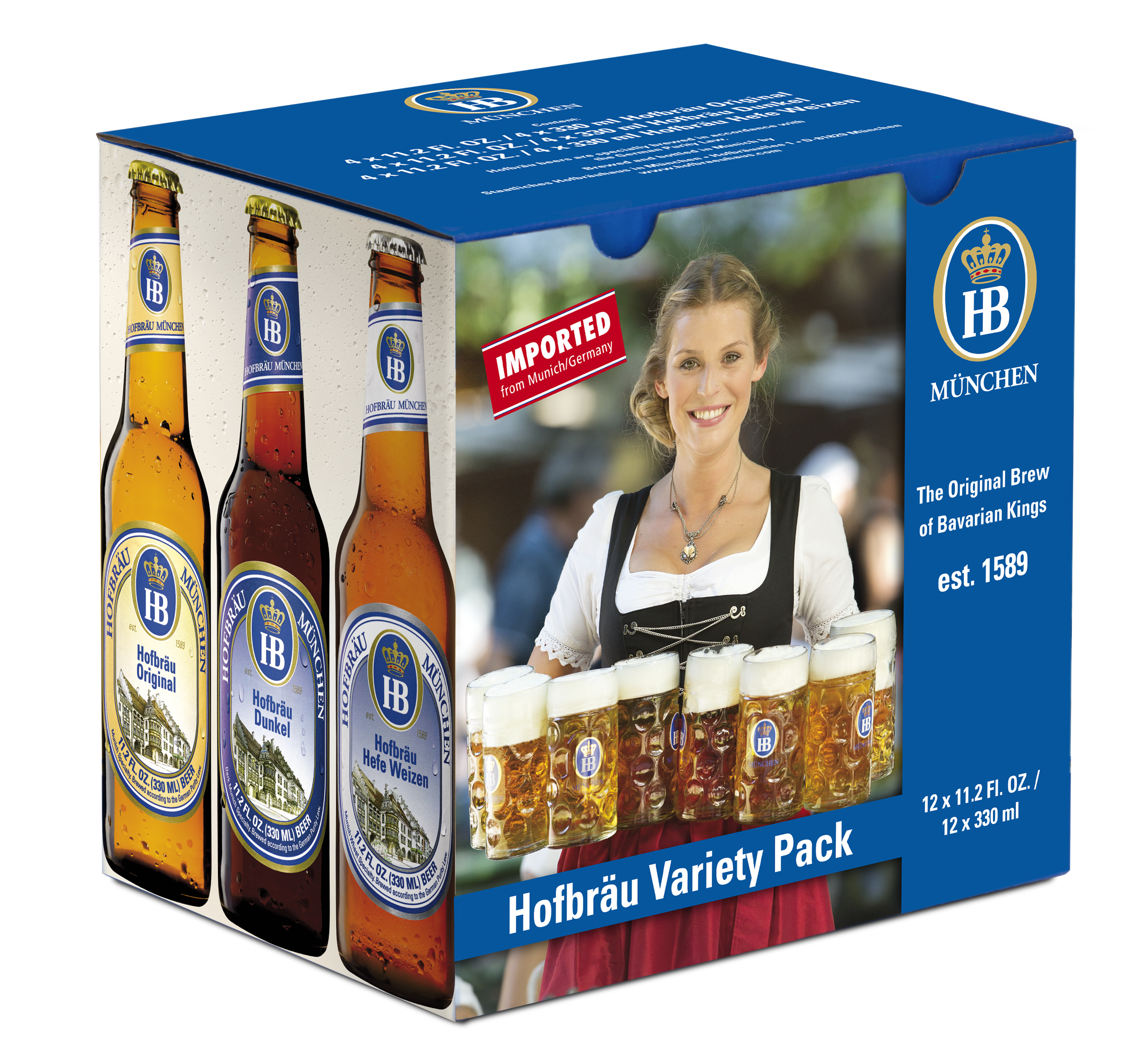 variety pack 12x330ml USA
