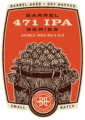 471 IPA Barrel Series Logo