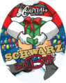 schwarz squareseries tap handle sticker