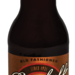 soda diet root beer bottle