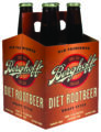 soda diet root beer four pack
