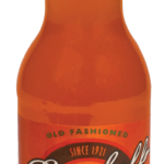 soda orange bottle