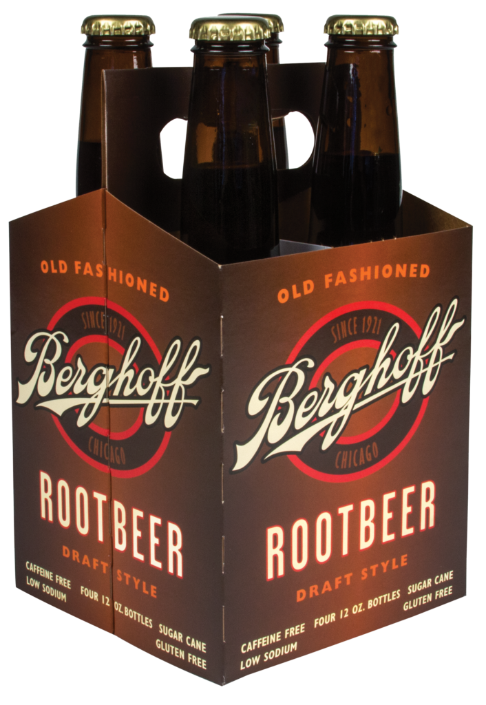 soda root beer four pack