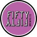 FiftyFifty Coffee labels