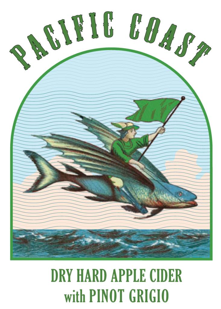 PacificCoast Pinot Labels