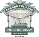 ATB BADGES HALF PUFFING BILLY