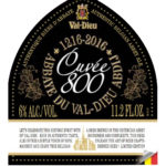 Cuvee800 11.2 label clip