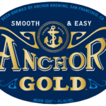 Anchor Gold Oval