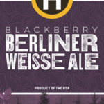 Blackberry BerlinerWeisse label crop