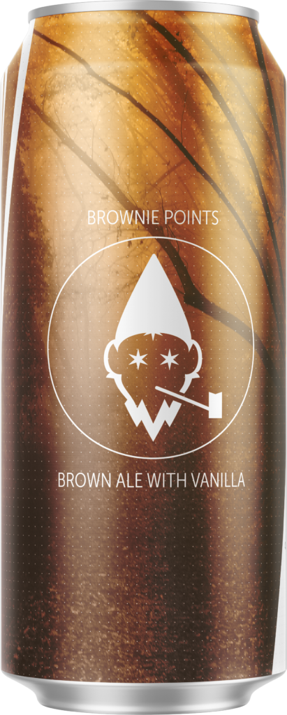 Brownie Points 16oz Can.