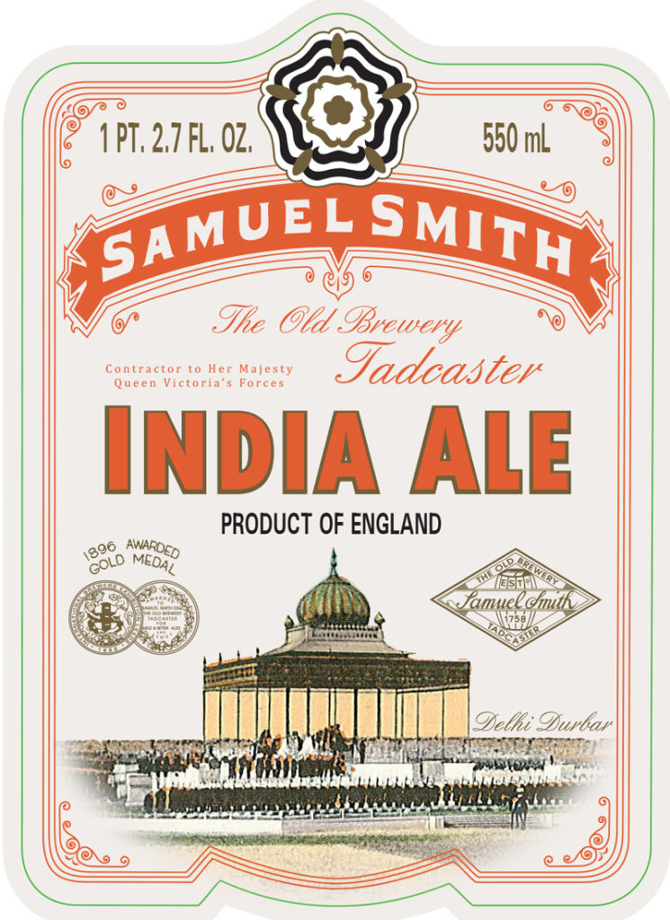 Sam Smith India Ale 550 front 11 25 13