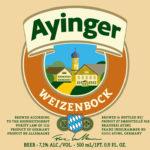ayinger weizenbock front label 3 2015 crop