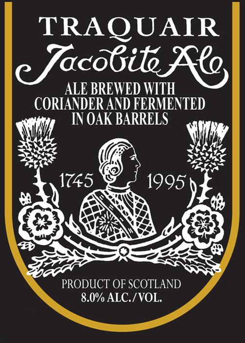traquair jacobite 500ml USA label frontcrop