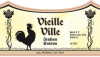 ville vieille label crop