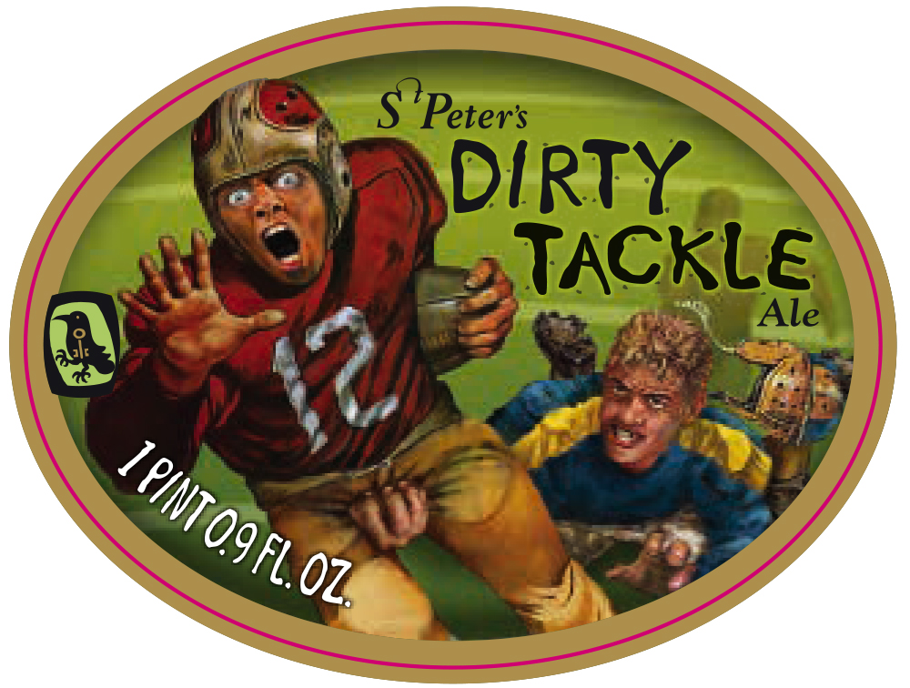 Dirty Tackle label