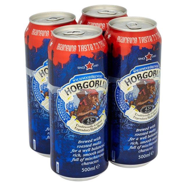 Hobgoblin 4pk cans