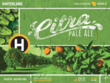 Citra Pale Ale label