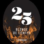 BLONDE DE LENFER Tap Magnet Sticker