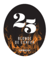BLONDE DE LENFER Tap Magnet Sticker