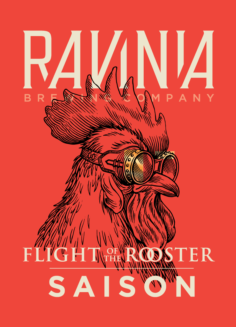 Flight of the Rooster label