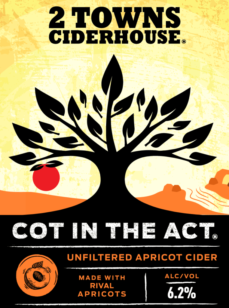 2TownsCiderhouse CotintheAct label