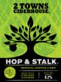 2TownsCiderhouse HopStalk label