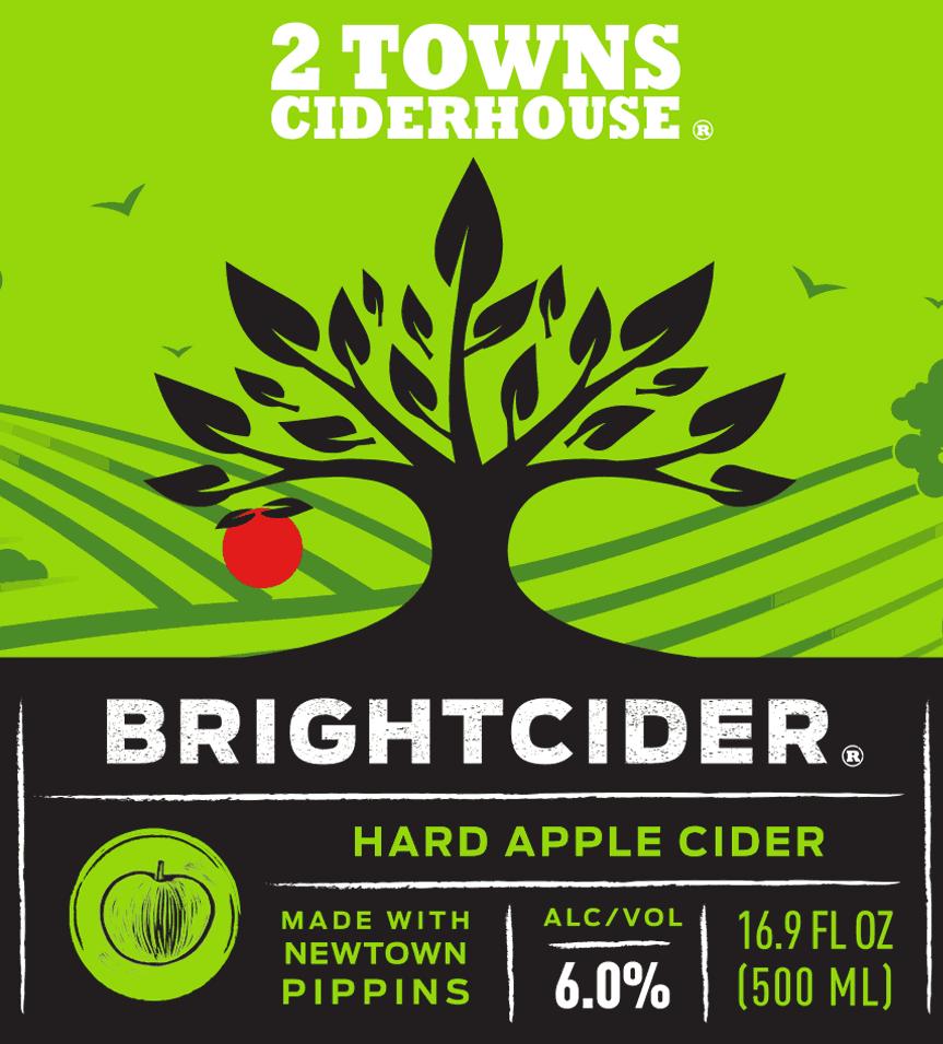 BrightCider label