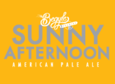 sunny afternoon label