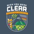 Whish You Were Clear badge
