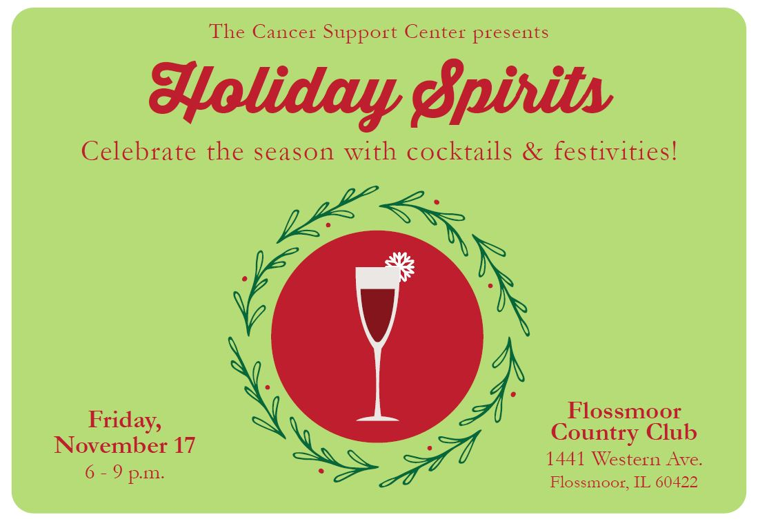 Holiday Spirits Postcard