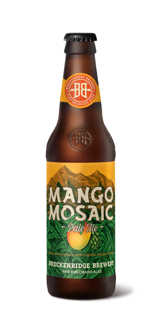 Mango Mosaic Pale Ale 12oz Bottle Render