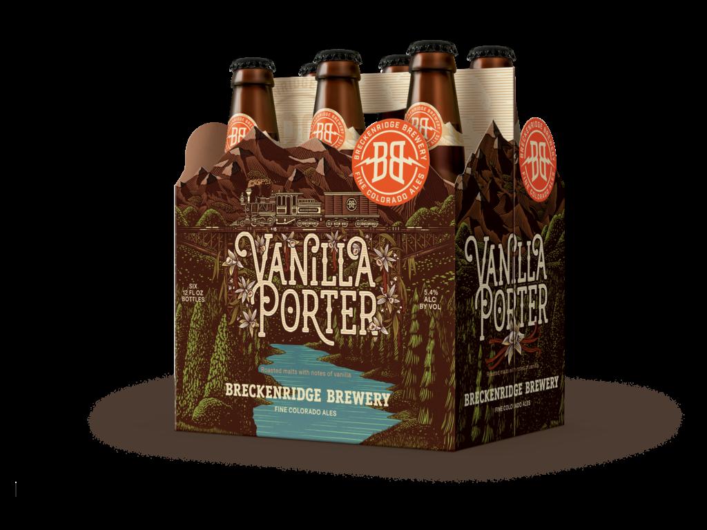 Vanilla Porter 6 Pack Bottle Render
