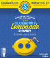 Blueberry Lemonade Shandy label
