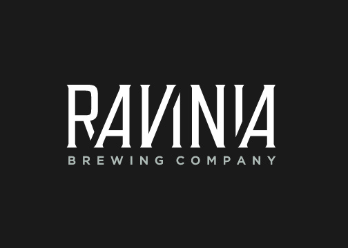 Ravinia full logo negative