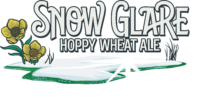 Snow Glare Hoppy Wheat Ale Logo